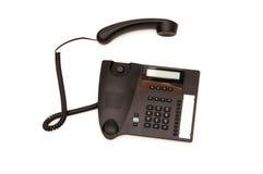Biurowy telefon odizolowywał Fotografia Royalty Free