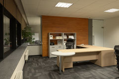 Biurowy wnętrze Fotografia Royalty Free