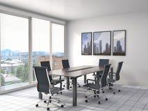 Biurowy wnętrze ilustracja 3 d ilustracja wektor