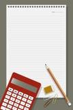 Biurowy wyposażenie Fotografia Stock