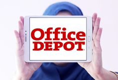 Biurowy zajezdnia detalisty logo obrazy stock