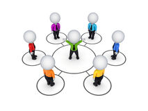 Biusiness network concept. Royalty Free Stock Images