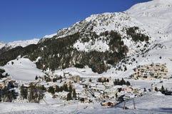 Bivio Ski Resort Imagen de archivo libre de regalías