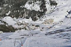 Bivio Ski Resort Royalty Free Stock Images