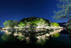 Biwa lake canal in Japan Royalty Free Stock Photo