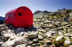 Biwakowy góry schronienie Zdjęcia Stock