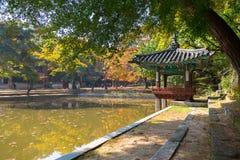 Biwon (giardino segreto) (costruito 1623 in avanti) Fotografie Stock
