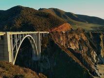 bixby桥梁 免版税图库摄影