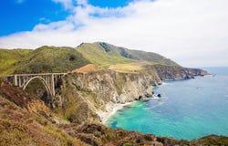 bixby γέφυρα στοκ φωτογραφία με δικαίωμα ελεύθερης χρήσης