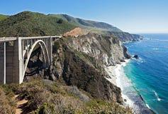bixby κολπίσκος γεφυρών στοκ εικόνες