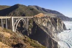 bixby мост Стоковое Фото