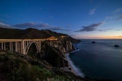 bixby мост Стоковая Фотография RF