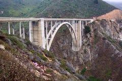 bixby мост california стоковые фотографии rf