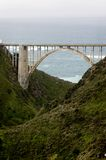 Bixby Bridge Royalty Free Stock Images