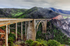 Bixby Bridge Royalty Free Stock Image