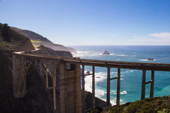 Bixby Bridge Stock Image