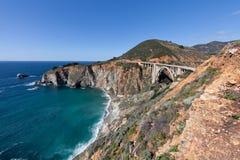 Bixby Bridge Big Sur California Stock Images