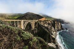 Bixby Bridge, Big Sur Stock Photo