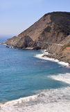 The Bixby Bridge 1. The bridge is an important feature of Route 1. Stock Photo
