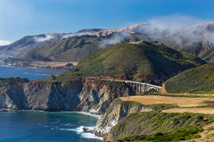 The Bixby Bridge Royalty Free Stock Photos