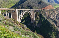 Bixby Bridge Landscape Royalty Free Stock Images