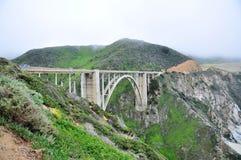 Bixby Bridge Stock Image