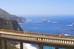 bixby carmel california моста Стоковые Изображения RF
