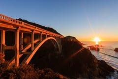 Bixby Creek Bridge Stock Image
