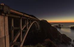 Bixby Creek Bridge Stock Photo