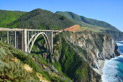 Bixby Creek Bridge Royalty Free Stock Image