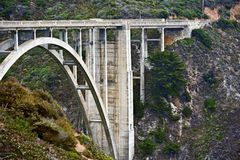 Bixby Creek Bridge Royalty Free Stock Photo