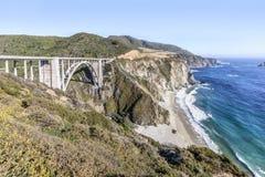 Bixby Creek Bridge - Big Sur California Royalty Free Stock Image