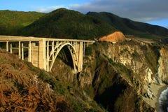 Bixby Nebenfluss-Brücke Stockfoto