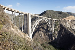 Bixby-Nebenfluss-Brücke, Big Sur Lizenzfreies Stockfoto