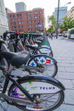 Bixi bikes Royalty Free Stock Image
