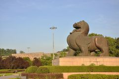 Bixie, Symbol of Nanjing, China Stock Photography
