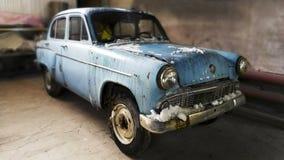 Retro car Moskvich 403 Stock Image