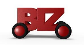 Biz domain Royalty Free Stock Image