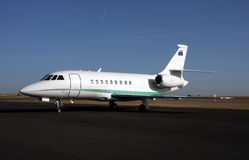 Biz Jet Stock Photo