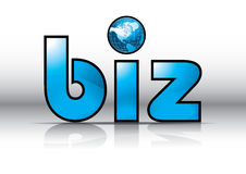 Biz Website Url Symbol Royalty Free Stock Image