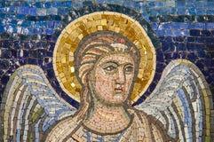 Bizantyjska mozaika: anioł Zdjęcia Stock
