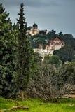Bizantyjski kościół Obrazy Royalty Free
