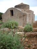 Bizantyjski kościół, wyspa Marettimo, Sicily, Włochy zdjęcia royalty free