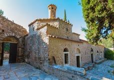 Bizantyjski monaster w Kaisariani, Ateny Fotografia Stock