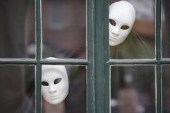 Bizar masker stock afbeelding