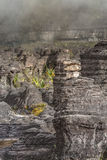 Bizarre ancient rocks of the plateau Roraima tepui - Venezuela,. Latin America Stock Image
