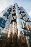 Bizarre architecture in Düsseldorf. Bizarre building by the famous architect Frank O. Gehry in Düsseldorf, Germany Stock Image