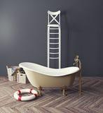 Bizarre bathroom Stock Photography