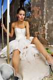 Bizarre Bride Royalty Free Stock Image