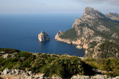 Bizarre Cabo Formentor, Majorca Royalty Free Stock Photo
